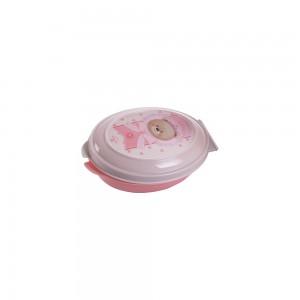 Imagem do produto - Saboneteira de Plástico com Tampa Fixa Ursa