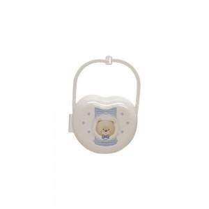 Imagem do produto - Porta Chupeta de Plástico com Alça Ursa