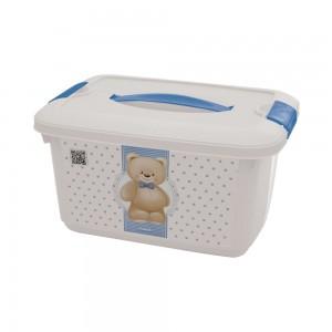 Imagem do produto - Caixa de Plástico 5,2 L com Alça e Trava Ursa