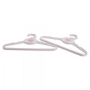 Imagem do produto - Conjunto de Cabides de Plástico 2 Unidades Ursa