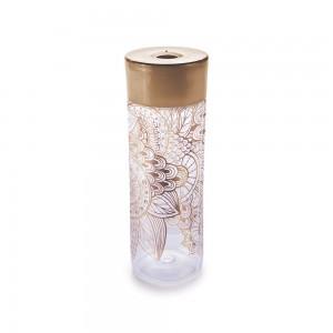 Imagem do produto - Garrafa de Plástico 750 ml com Tampa Rosca Mandala