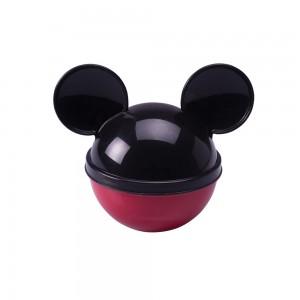 Imagem do produto - Pote de Plástico com Tampa em Formato de Orelha Mickey