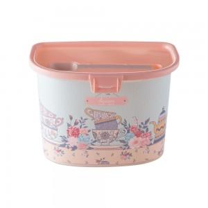 Imagem do produto - Pote de Plástico para Açucar com Colher Trava e Tampa Fixa Café da Manhã Xícara