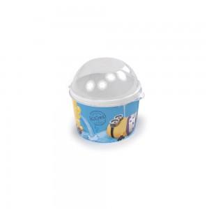 Imagem do produto - Pote de Plástico 400 ml com Tampa Fixa Meu Malvado Favorito