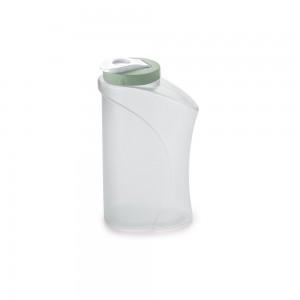 Imagem do produto - Garrafa de Plástico 1,3 L com Tampa Rosca e Sobretampa Verde