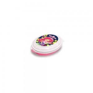 Imagem do produto - Saboneteira de Plástico com Tampa Fixa Moranguinho