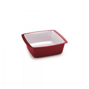 Imagem do produto - Travessa de Plástico Retangular 520 ml sem Tampa Duo Chef