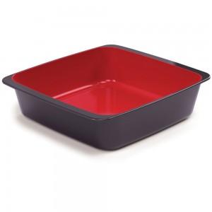 Imagem do produto - Travessa de Plástico Retangular 1,5 L sem Tampa Duo Chef