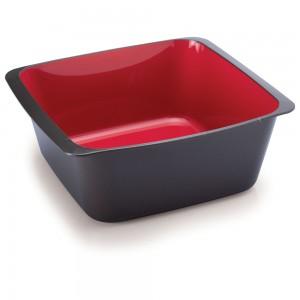 Imagem do produto - Travessa de Plástico Retangular 2,2 L sem Tampa Duo Chef