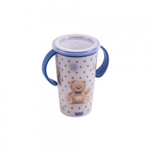Imagem do produto - Copo de Plástico com Alça 280 ml Urso Magic