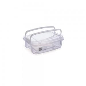 Imagem do produto - Caixa 410 ml com Alça e Trava | Gran Box