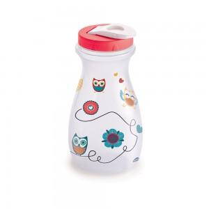 Imagem do produto - Garrafa de Plástico 1,3 L com Tampa Rosca e Sobretampa Coruja