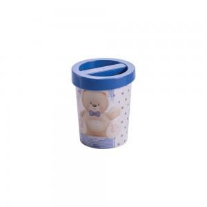 4a6a1afb98 Porta Cotonetes de Plástico Urso