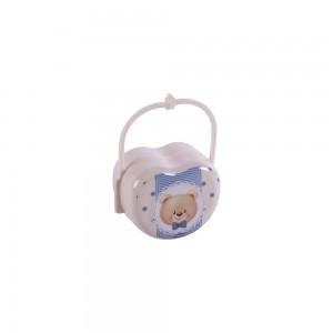 Imagem do produto - Porta Chupeta de Plástico com Alça Urso