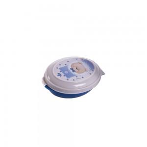 Imagem do produto - Saboneteira de Plástico com Tampa Fixa Urso