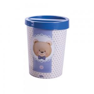 Imagem do produto - Lixeira de Plástico com Tampa Urso