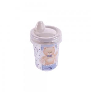 Imagem do produto - Copo de Plástico 330 ml para Transição com Fechamento Rosca Urso