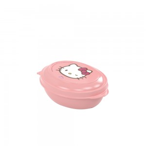 Imagem do produto - Saboneteira de Plástico com Tampa Fixa Hello Kitty