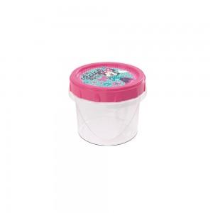 Imagem do produto - Pote de Plástico Redondo 300 ml Rosca Minnie
