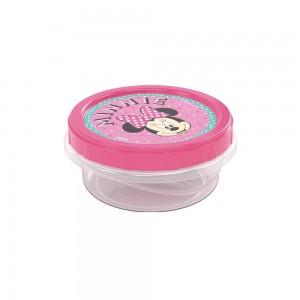 Imagem do produto - Pote de Plástico Redondo 390 ml Rosca Minnie
