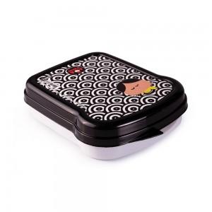Imagem do produto - Sanduicheira de Plástico com Tampa Fixa Turma da Mônica