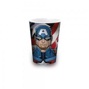 Imagem do produto - Copo de Plástico 320 ml Avengers Capitão América