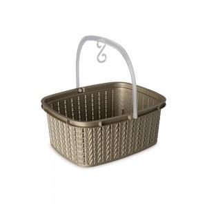Imagem do produto - Cesto de Plástico para Prendedor com Alça Trama