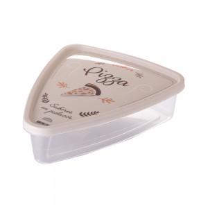 Imagem do produto - Pote de Plástico Triangular 1,2 L Pizza Clic Retrô