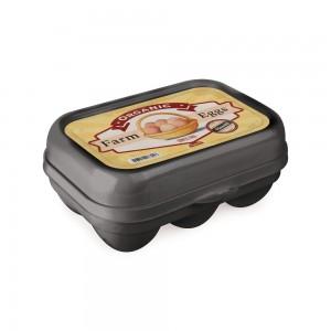 Imagem do produto - Porta Ovos de Plástico com Tampa Fixa Retrô