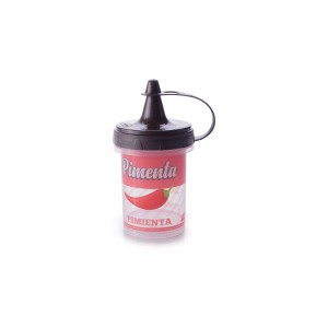 Imagem do produto - Mini Bisnaga de Plástico 140 ml para Pimenta Retrô