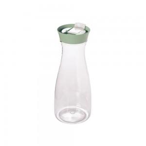 Imagem do produto - Garrafa de Plástico 1 L com Tampa Rosca e Sobretampa Encaixável New York Verde