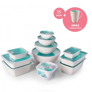 Imagem do produto - Kit de Potes | Duo 360°
