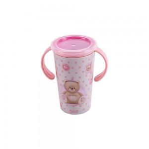 Imagem do produto - Copo de Plástico com Alça 280 ml Ursa Magic