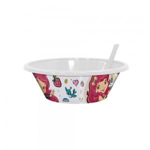 Imagem do produto - Bowl com Canudo Fixo | Moranguinho