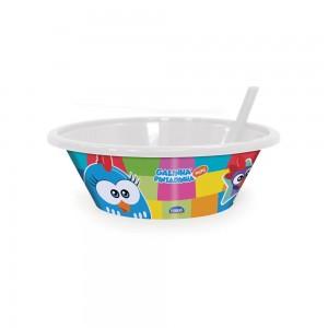 Imagem do produto - Bowl com Canudo Fixo   Galinha Pintadinha