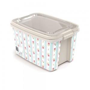 Imagem do produto - Caixa 10,7 L com Alça e Trava | Floral - Gran Box