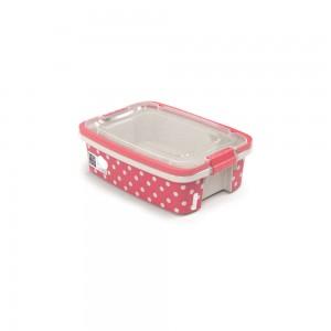 Imagem do produto - Caixa 850 ml com Alça e Trava | Poá - Gran Box