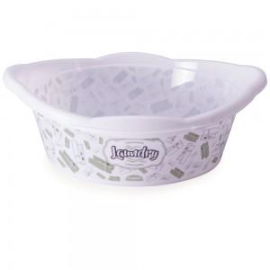 Imagem do produto - Bacia de Plástico Redonda 17,1 L com Pegador Lavanderia