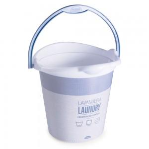 Imagem - Balde de Plástico 8 L com Alça Lavanderia 008866-3072 Azul