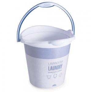 Imagem - Balde de Plástico 12 L com Alça Lavanderia 008867-3074 Azul