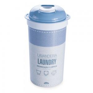 Imagem do produto - Porta Sabão em Pó de Plástico com Tampa Rosqueável
