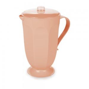 Imagem do produto - Jarra de Plástico 2 L com Tampa Retrô Fun Rosa