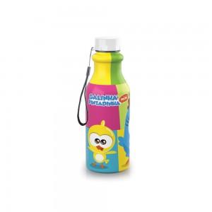 Imagem do produto - Garrafa de Plástico 500 ml com Tampa Rosca Retrô Galinha Pintadinha