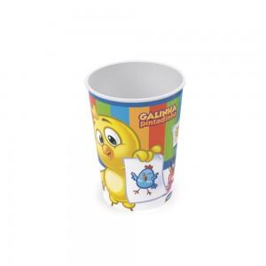 Imagem do produto - Copo de Plástico 320 ml Galinha Pintadinha