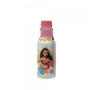 Imagem do produto - Garrafa de Plástico 500 ml com Tampa Rosca Retrô Moana