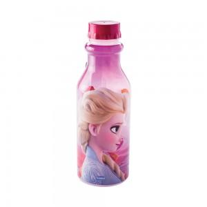 Imagem do produto - Garrafa de Plástico 500 ml com Tampa Rosca Retrô Frozen Elsa