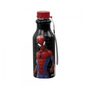 Imagem do produto - Garrafa de Plástico 500 ml com Tampa Rosca Retrô Homem Aranha