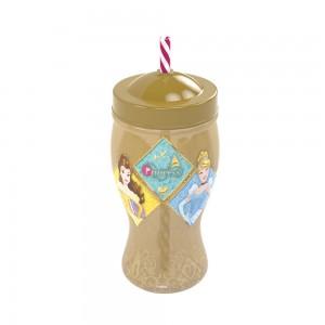 Imagem do produto - Copo Taça com Canudo | Princesas Colecionáveis