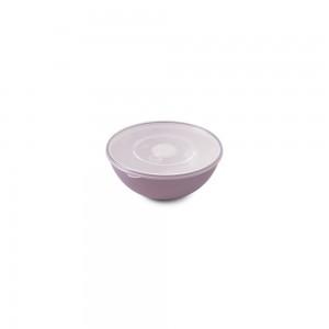 Imagem do produto - Tigela de Plástico 350 ml com Tampa e Válvula Duo 360° Lilás