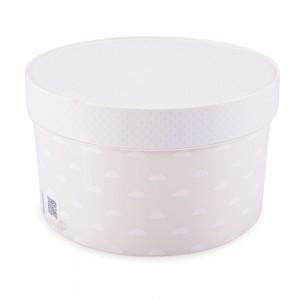 Imagem do produto - Caixa de Plástico Redonda 2,7 L com Tampa Encaixável Neutra